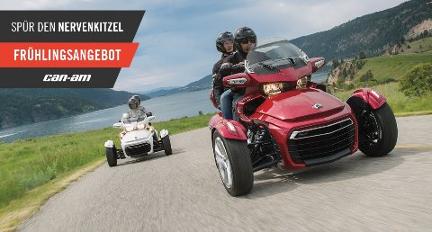 Motorradveranstaltung Can-Am On-Road Days bei Scholly´s