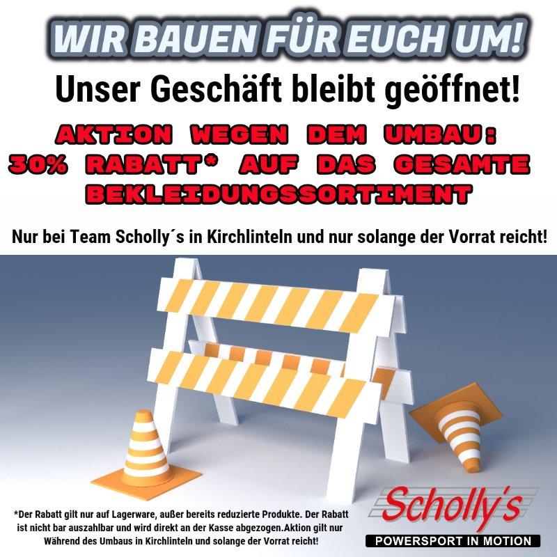 TEAM SCHOLLY`S IN KIRCHLINTELN BAUT FÜR EUCH UM!